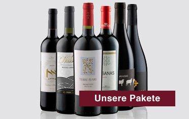 Wein Pakete, Probierpakete, Geschenkpakete