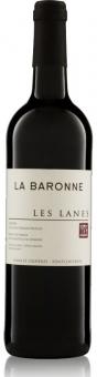 Les Lanes Rouge Corbières AOP 2014 Château La Baronne Biowein