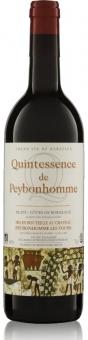 Quintessence de Peybonhomme 1ières Côtes de Blaye AOC 2012 Biowein