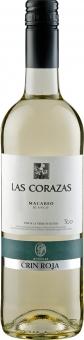 Roqueta Las Corazas Macabeo Blanco VdT 2017 0.75 l