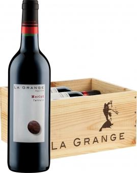 La Grange Terroir Merlot IGP 6er Holzkiste 2016 0.75 l