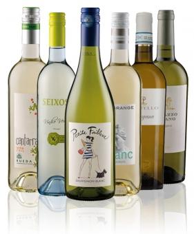 Weinpaket Weißwein Gold prämiert (6 x 2 Flaschen)